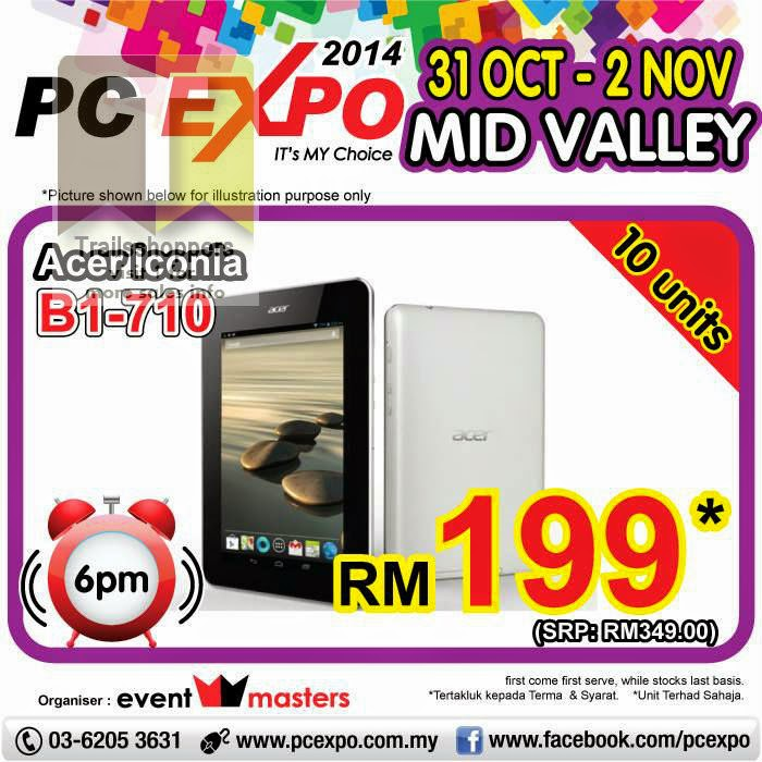 PC Expo 2014 - Mid Valley Exhibition Centre offers
