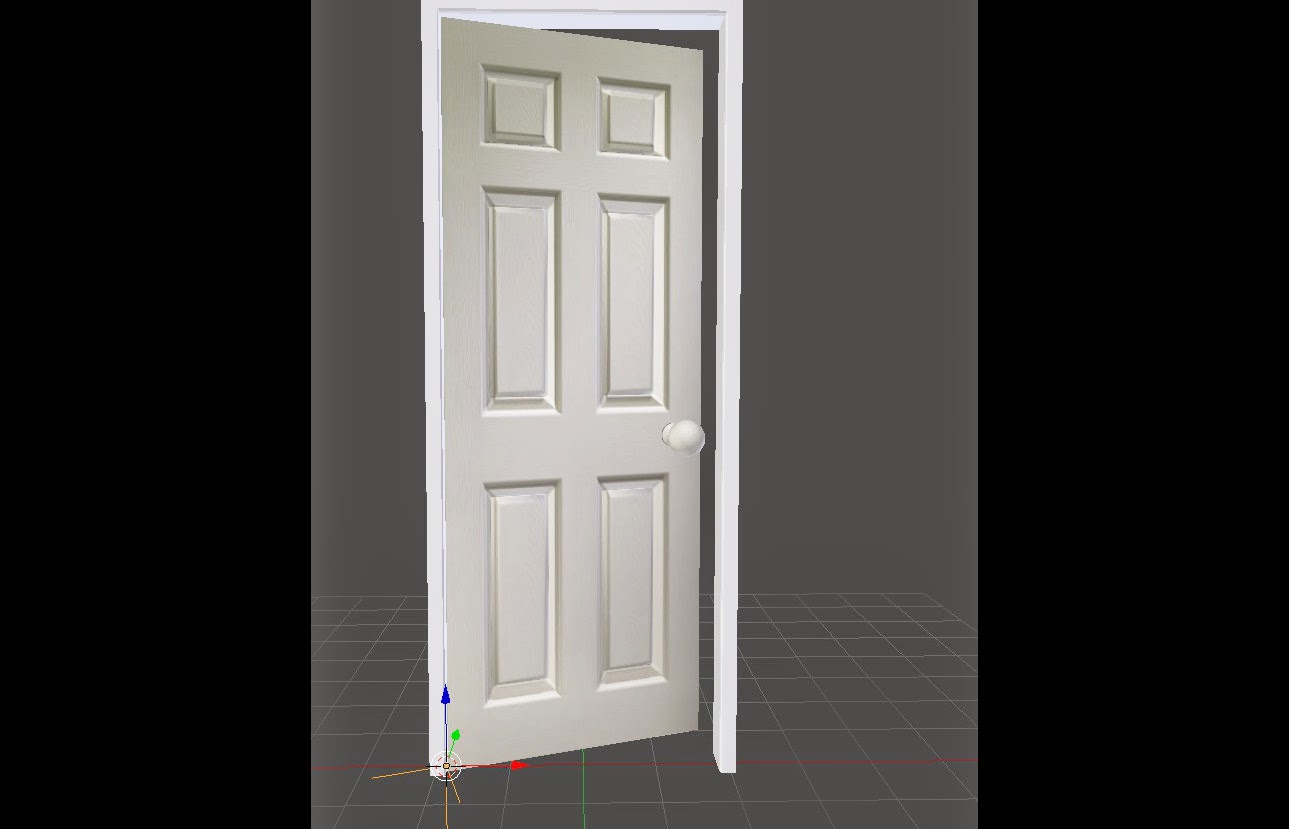 Beginner tutorial how to create and setup a door for animation in in this post ill show you how to create a simple door and set it up for easy animation of a door opening and closing baditri Image collections