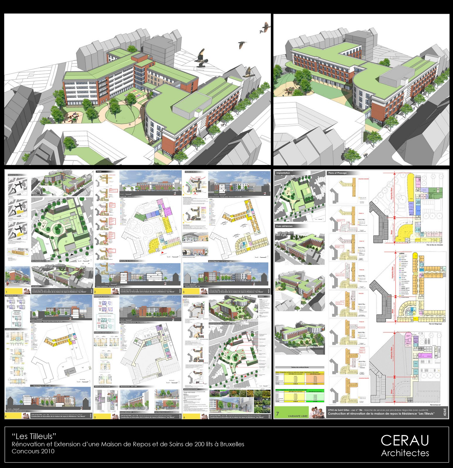 D co projet construction maison brabant wallon aulnay for Projet construction