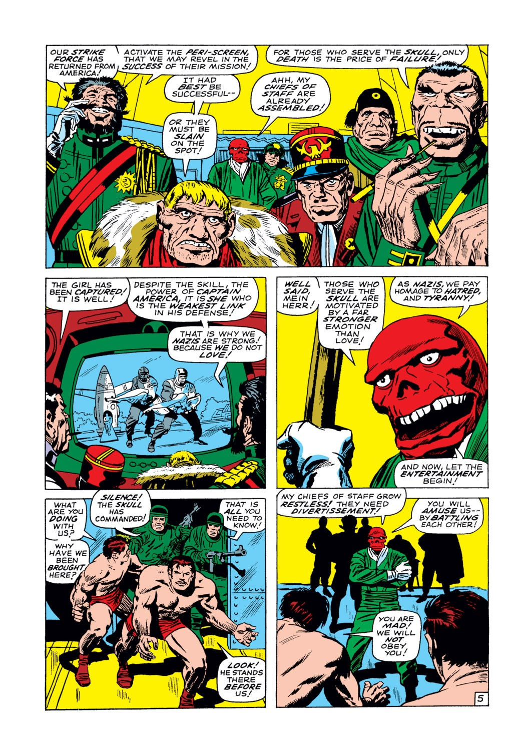 Captain America (1968) Issue #103 #17 - English 6