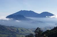 Mount Raung Trekking Tour 4 Days 3 Night Trip