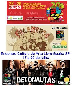 20º Encontro Cultural de Arte Livre Guaíra- SP 2015