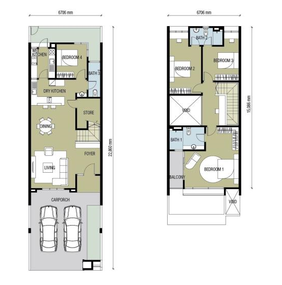 Floor Plan Feng Shui March 2015
