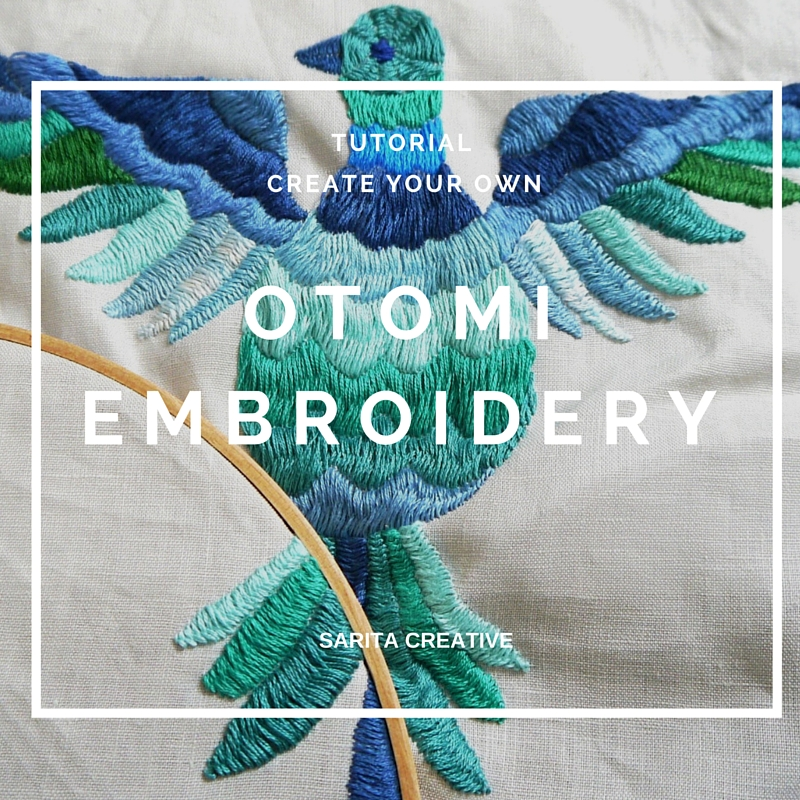 Tutorial Otomi Embroidery Stitch Sarita Creative