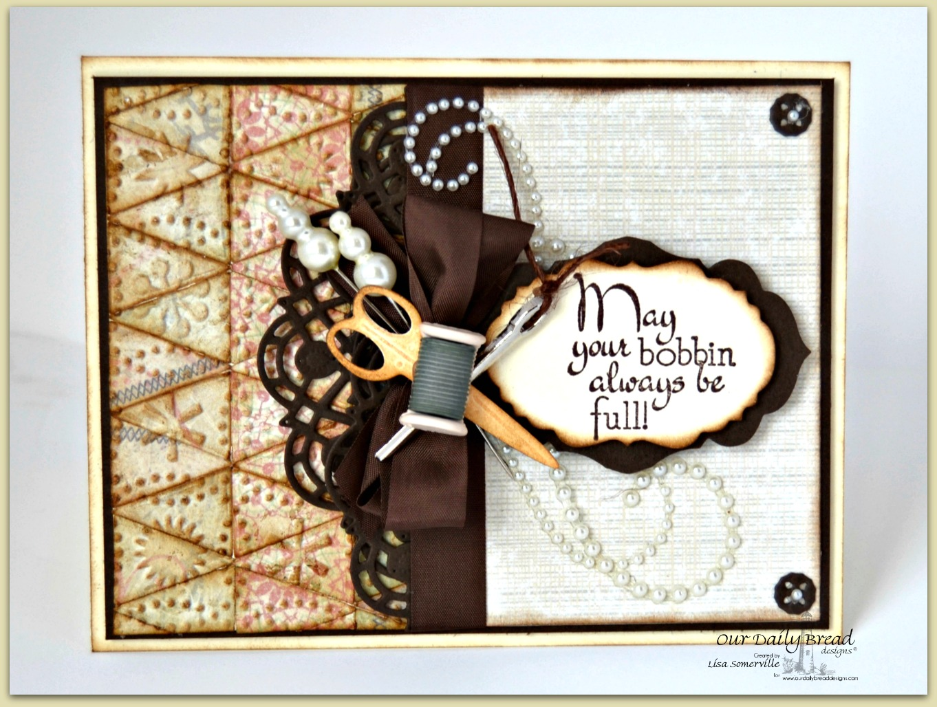 Stamps - Our Daily Bread Designs Sewing, ODBD Custom Pennant Dies, ODBD Custom Doily Die, ODBD Custom Antique Labels & Border Dies, ODBD Custom Vintage Labels Dies, ODBD Custom Apron and Tools Die, Soulful Stitches Paper Collection