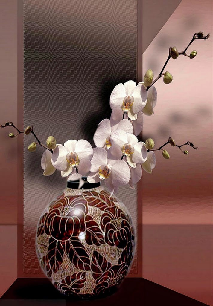 Jarrones modernos centros de mesa moderno chino jarrones - Centros decorativos modernos ...