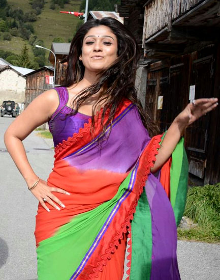 nayanatara saree pics in greekuveerudu movie10