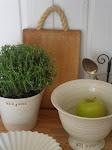 Kuvia keittiöstämme - Bilder från vår kök