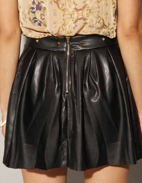 Anything with studs craving studded leather skirt