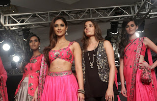Ileana DCruz Pictures in Pink Lehenga Choli at Lakme Fashion Week Winter Festive 201431).jpg