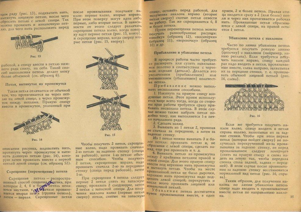 Вязание в ссср спицы 464