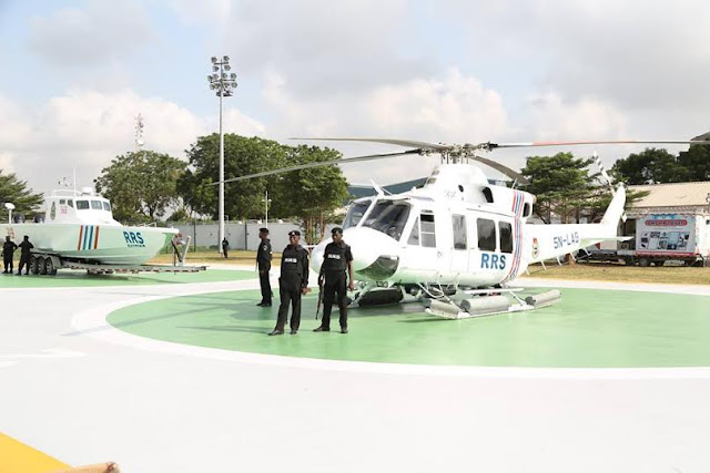 Ambode Commisions Gun Boats,Helicopters, Amoured Vehicles To Boost Security In Lagos(Photos)