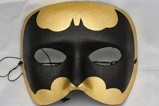 Bat Masquerade Ball Mask from Theatrical Threads Ltd