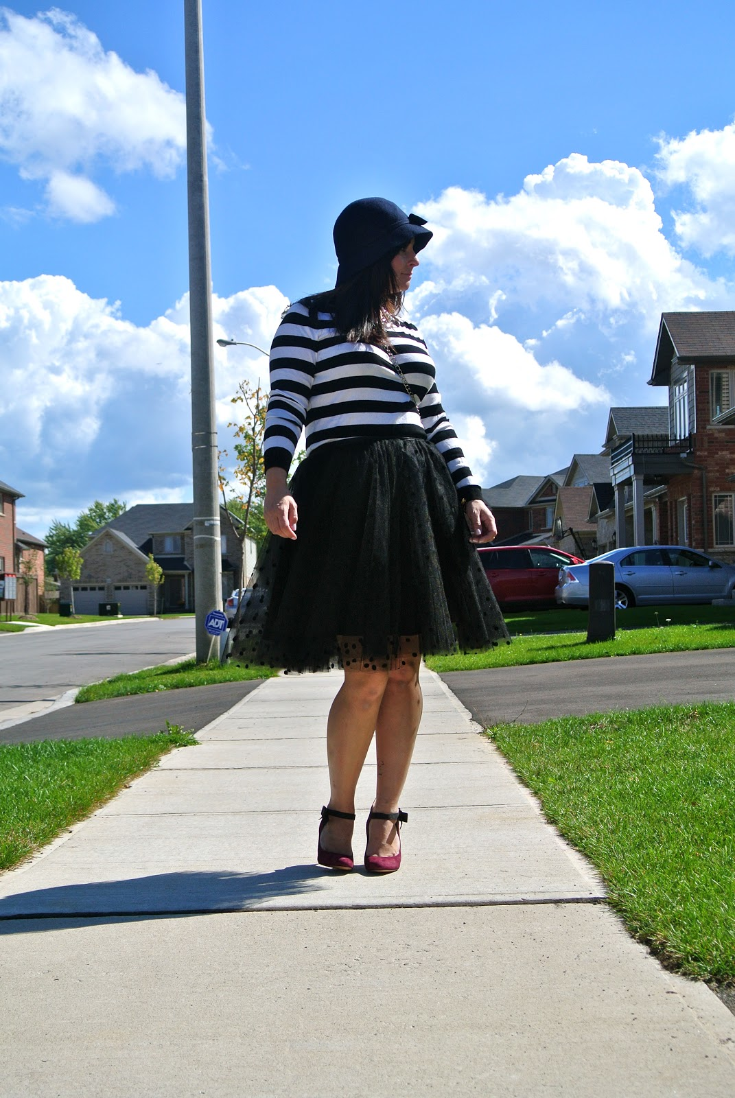 space46boutique tulle polkadot skirt nine west gushing