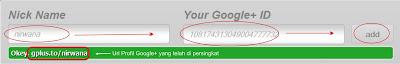 Mempersingkat Url Profil Google+