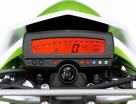 Kawasaki Ninja 250RR single silinder menggunakan mesin dan speedometer Kawasaki KLX 250S . . .
