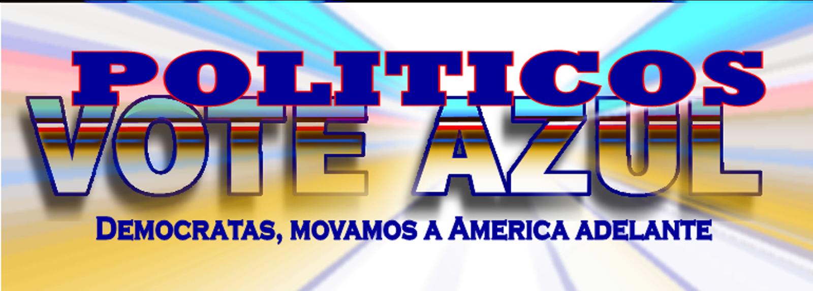 VOTE AZUL - Politicos