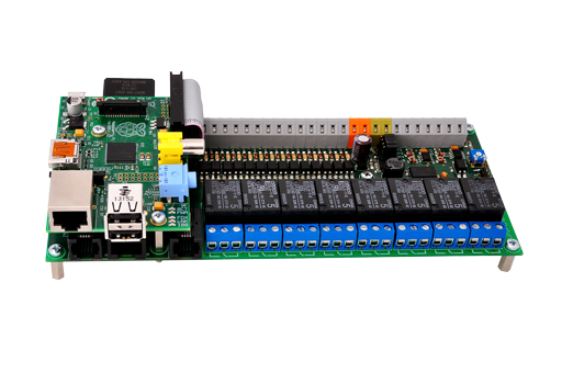 UniPi - the universal Raspberry Pi add-on board