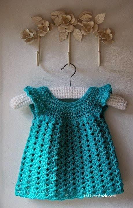 Free baby crochet patterns crochet baby dress pattern crochet baby