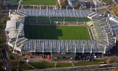 live football stadion bayer leverkusen bay arena. Black Bedroom Furniture Sets. Home Design Ideas