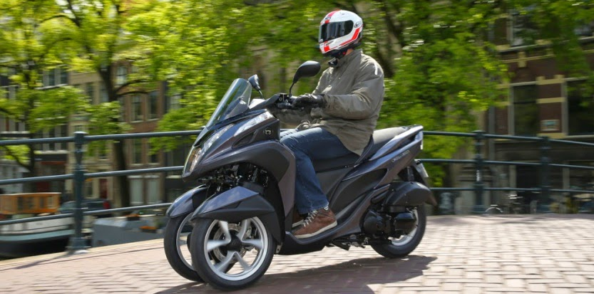 Yamaha Tricity, Three Wheels Scooter