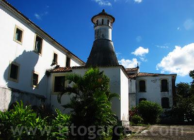 Fundos do convento de Santa Cruz, também chamado de convento de São Francisco, em São Cristóvão - Sergipe - Por Tito Garcez