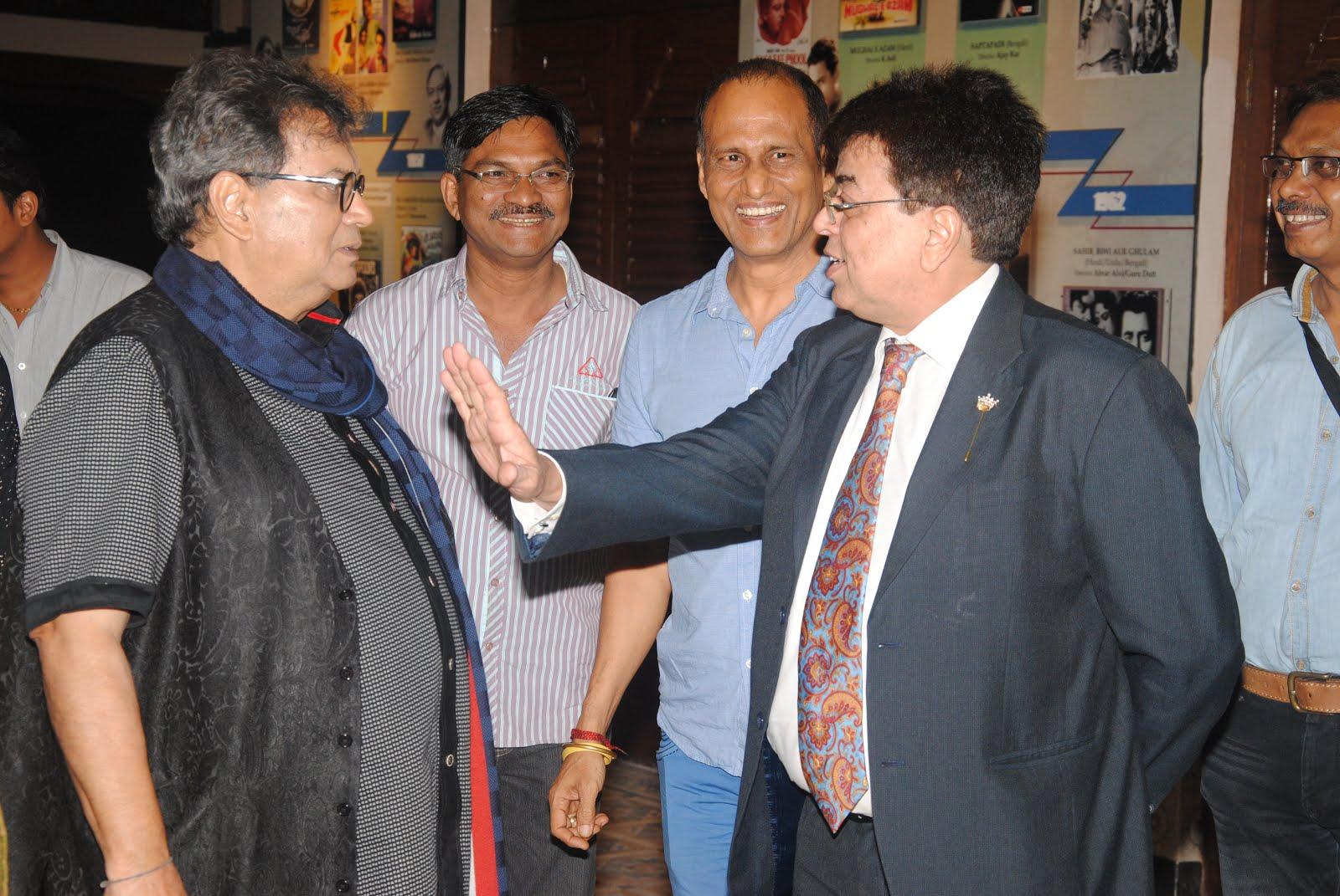 With Subhash Ghai at Films Division Mumbai
