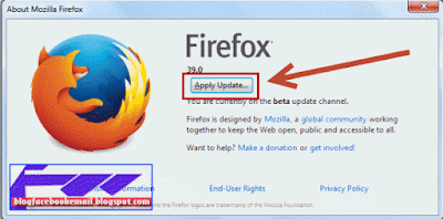 cara apply  update lewat menu mozilla