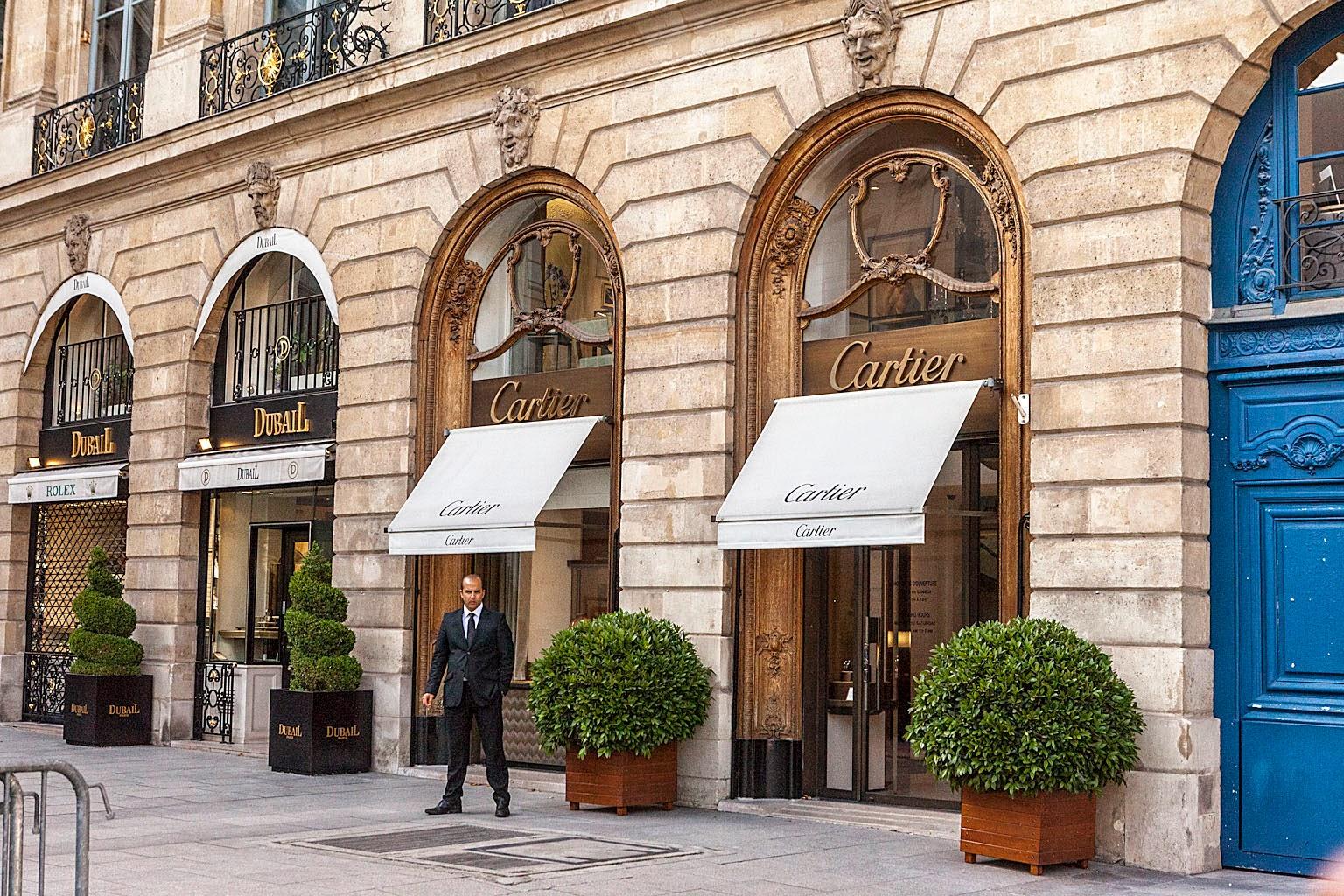 Cartier en París