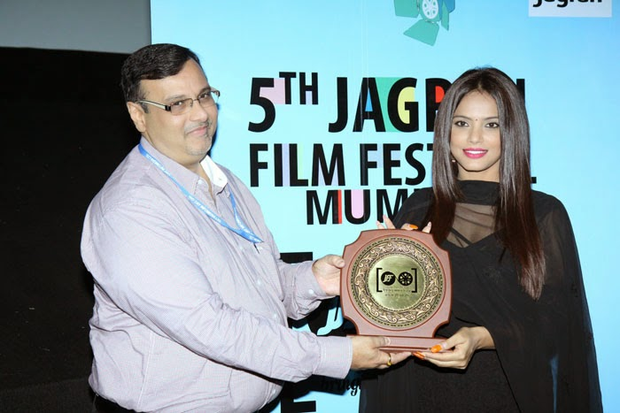 Famous Stars at Opening Ceremony of The 5th Jagran Film Festival 2014