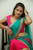 Anusha half saree photos gallery-thumbnail-20