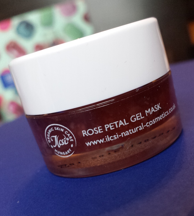 Ilcsi Rose Petal Gel Mask - Birchbox December 2014