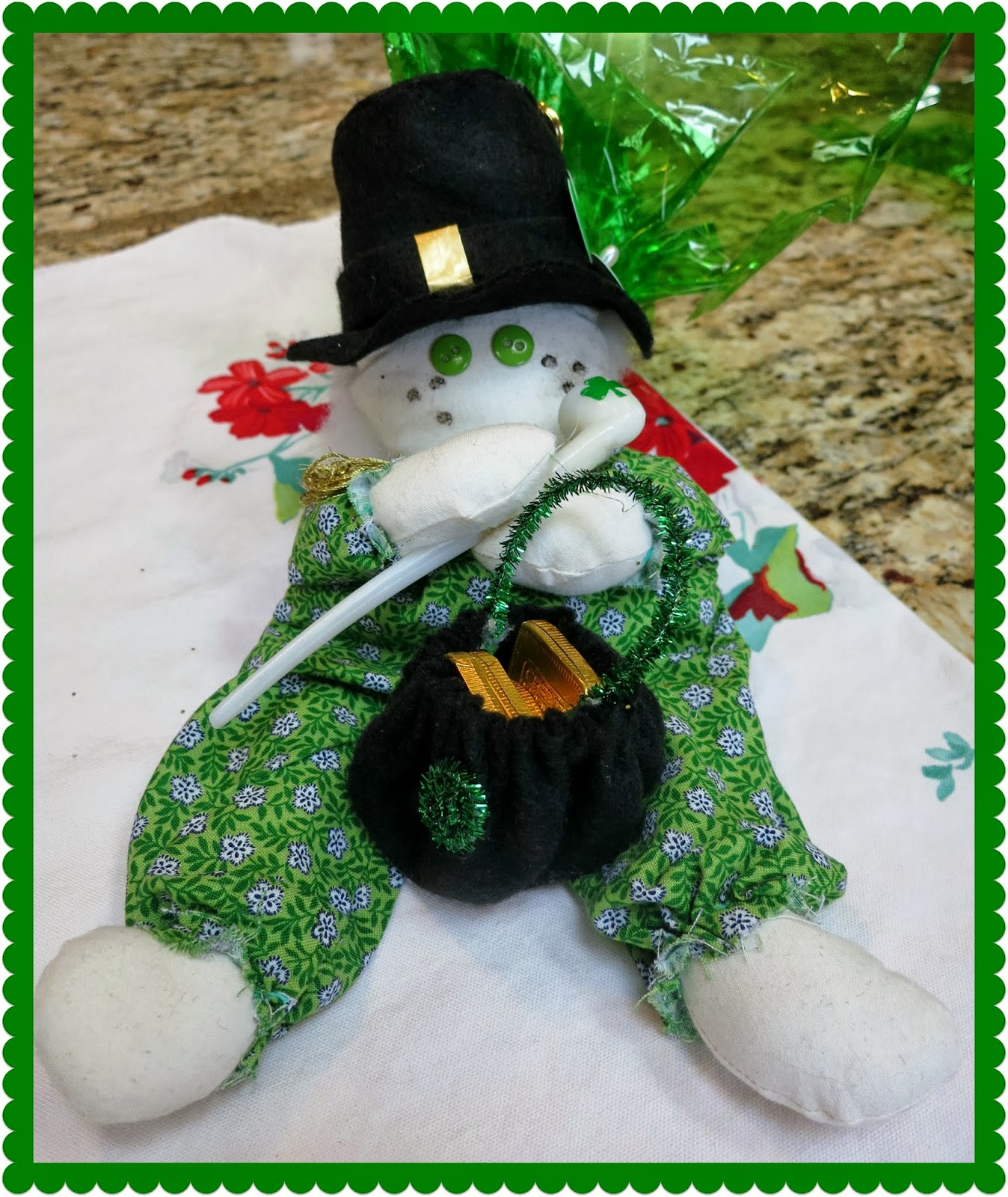 zetta u0027s aprons my lucky charms secret leprechaun swap