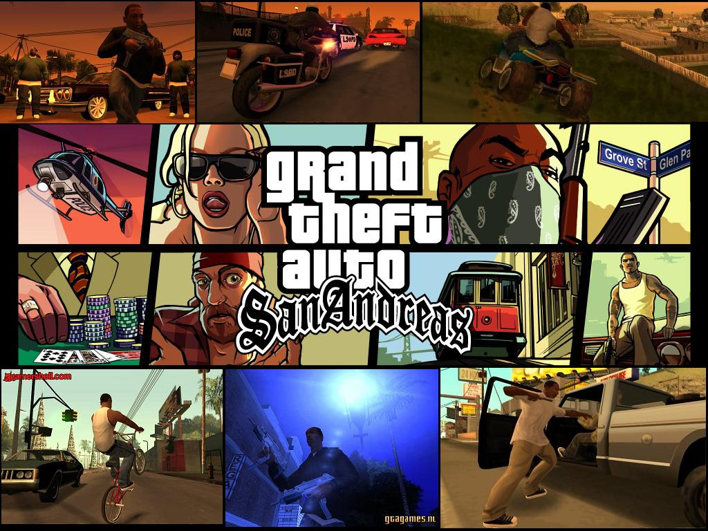 1. Grand Theft Auto: San Andreas
