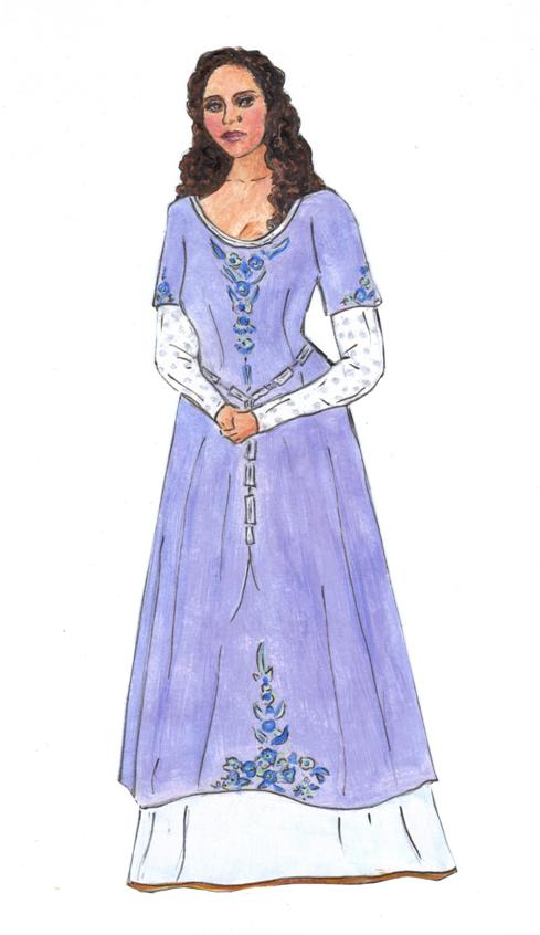 ☆Sharon\'s Sunlit Memories☆: Guinevere Paper Doll - Almost a Queen