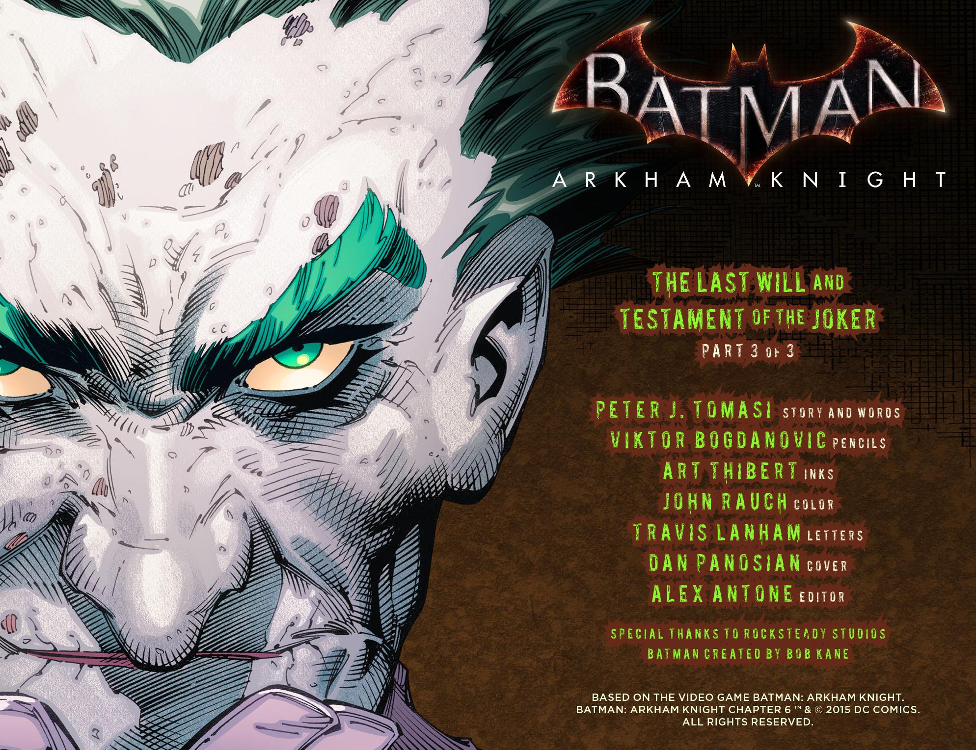 Batman: Arkham Knight [I] Issue #6 #8 - English 2