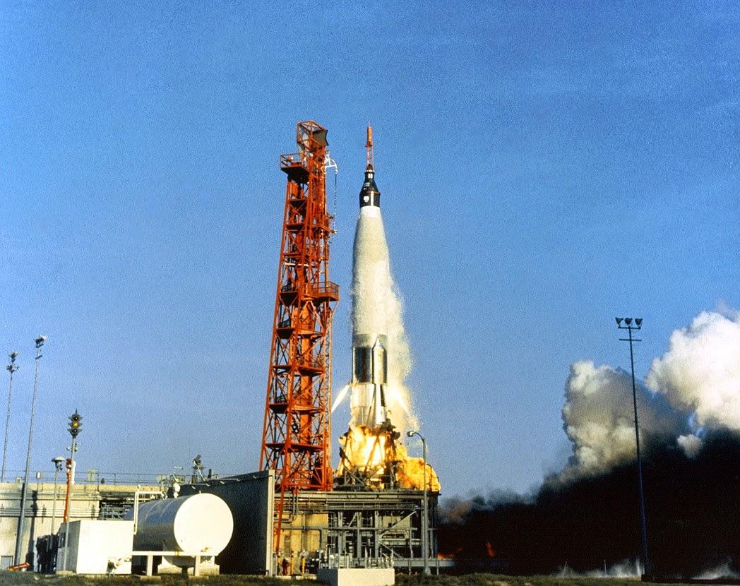 Lanzamiento Mercury 8