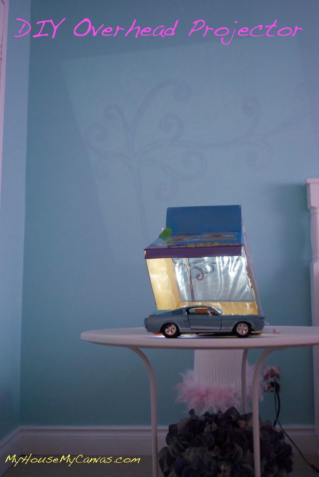 my house my canvas diy wall projector diy wall projector