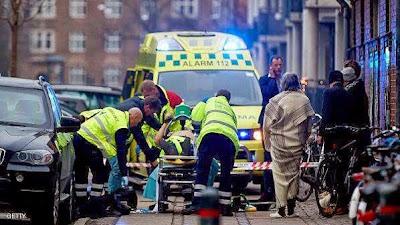 عاجل : إطلاق نار على كنيس يهودي وسط كوبنهاغن