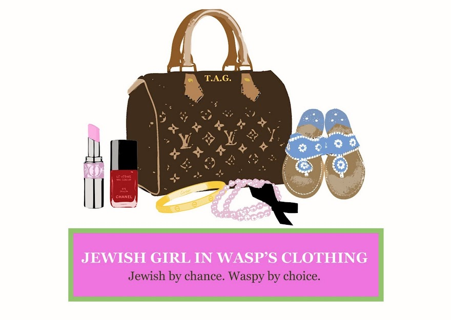 jewish girl in wasp&#39;s clothing