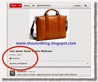 Add Pinterest Rich Pins In  Blogger Blog