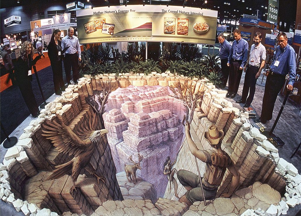 27-The-Canyon-Kurt-Wenner-3D-Street-Pavement-Art-Painting-www-designstack-co