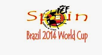 Profil Tim Spain (Spanyol) Piala Dunia 2014 Brasil