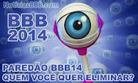 Enquete BBB14 - Paredão BBB14