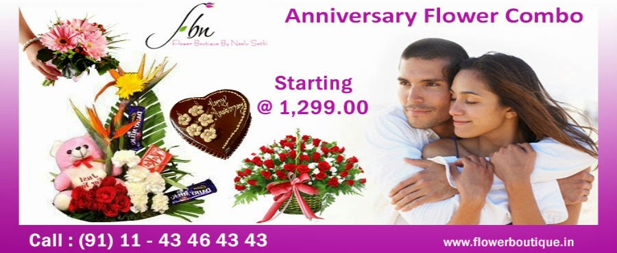 Anniversary Flowers Gifts Online - FBN Flower Boutique