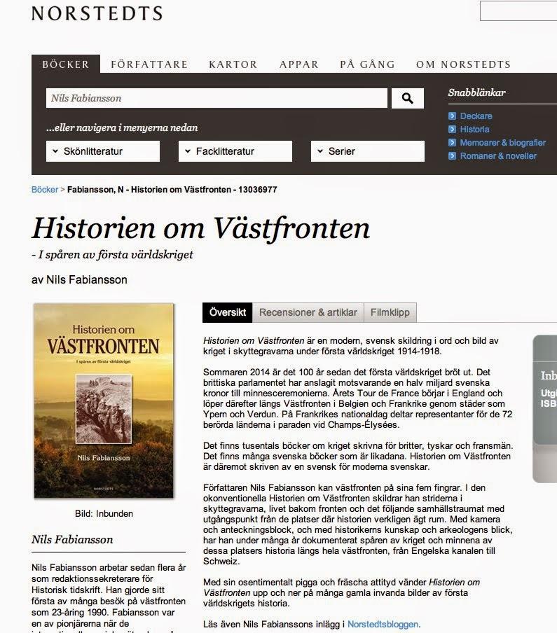 Norstedts - recensioner, filmklipp, författarpresentation mm