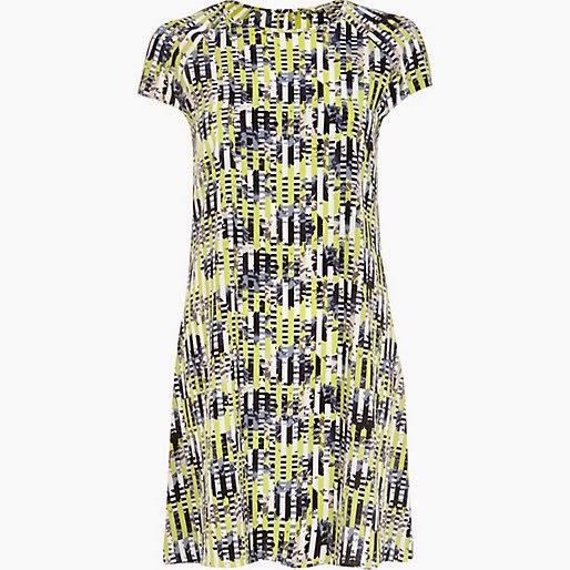 river island short dress