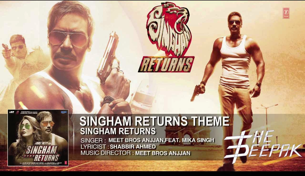 Singham Returns Song Meet Bros Anjjan Mika Singh