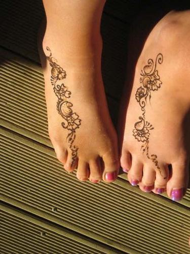 Easy And Simple Mehndi Designs For Feet 2012 Mehndi Designs Mehndi