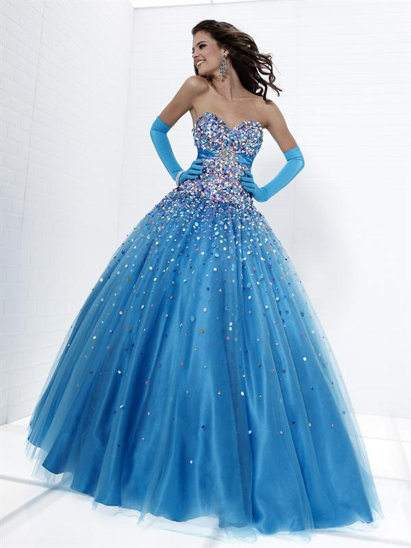 Starry Night Prom Dress